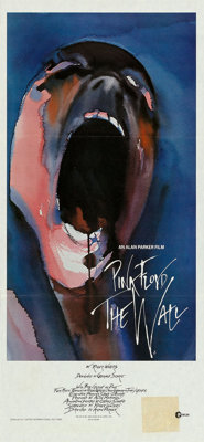 "Pink Floyd: The Wall (MGM, 1982). Australian Daybill (13"" X 28""). Rock and Roll"