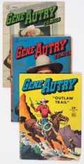 Golden Age (1938-1955):Western, Gene Autry Comics #8-116 Near Complete Range Short Box Group(Fawcett Publications, 1945-57) Condition: Average VG....