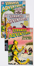 Silver Age (1956-1969):Science Fiction, Strange Adventures Group of 17 (DC, 1959-66) Condition: AverageVG/FN.... (Total: 17 Comic Books)