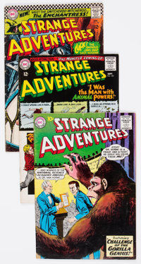 Strange Adventures Group of 20 (DC, 1956-67) Condition: Average VG-.... (Total: 20 Comic Books)