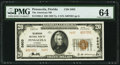 National Bank Notes:Florida, Pensacola, FL - $20 1929 Ty. 2 The American NB Ch. # 5603. ...