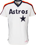 Baseball Collectibles:Uniforms, 1984-85 Nolan Ryan Game Worn Houston Astros Jersey. ...