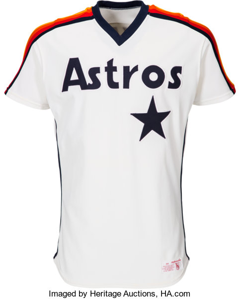 938bdd26177 1984-85 Nolan Ryan Game Worn Houston Astros Jersey. ... Baseball ...