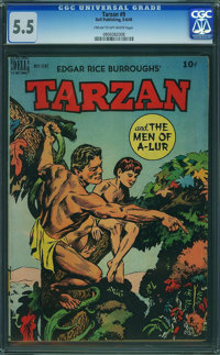 Tarzan #9 (Dell, 1949) CGC FN- 5.5 Cream to off-white pages