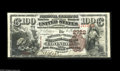 National Bank Notes:Kentucky, Covington, KY - $100 1882 Brown Back Fr. 525 The Farmers &Traders NB Ch. # 2722. A very scarce Covington bank which iss...