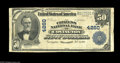 National Bank Notes:Kentucky, Covington, KY - $50 1902 Date Back Fr. 670 The Citizens NB Ch. #4260. This Fine example and four others of this typ...