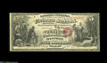 National Bank Notes:Kentucky, Danville, KY - $5 Original Fr. 397 The Central NB Ch. # 1600. Thisis the only note known from this short lived bank, wh...