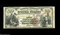National Bank Notes:Kentucky, Danville, KY - $20 1882 Brown Back Fr. 494 The Boyle NB Ch. #(S)3317. A considerably higher grade example than the $10 ...