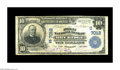 National Bank Notes:Kentucky, Dry Ridge, KY - $10 1902 Plain Back Fr. 624 The First NB Ch. #(S)7012. A rare note bearing one of the great town names ...