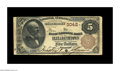 National Bank Notes:Kentucky, Elizabethtown, KY - $5 1882 Brown Back Fr. 467 The First NB Ch. #3042. This is Elizabethtown's rare bank, with the cens...