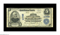 National Bank Notes:Kentucky, Fleming, KY - $5 1902 Plain Back Fr. 608 The First NB Ch. # 11988.A very rare large size note from a small town in the ...