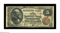 National Bank Notes:Kentucky, Frankfort, KY - $5 1882 Brown Back Fr. 471 The State NB Ch. #(S)4090. A pleasing $5 Brown Back from the Kentucky state ...