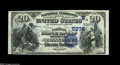 National Bank Notes:Kentucky, Frankfort, KY - $20 1882 Date Back Fr. 555 The National Branch Bankof Kentucky Ch. # (S)5376. A high grade example from...