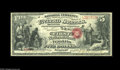 "National Bank Notes:Kentucky, Franklin, KY - $5 Original Fr. 399 The First NB Ch. # 1760. This isanother incredible note for which the term ""rare' is..."