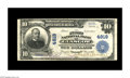 National Bank Notes:Kentucky, Glasgow, KY - $10 1902 Plain Back Fr. 628 The First NB Ch. # 4819.This scarce Barren County institution was the first o...