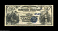 National Bank Notes:Kentucky, Glasgow, KY - $20 1882 Value Back Fr. 581 The Trigg NB Ch. #(S)5486. This is one of fewer than two dozen $20 Value Back...