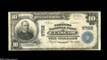 National Bank Notes:Kentucky, Glasgow, KY - $10 1902 Plain Back Fr. 627 The Farmers NB Ch. #9722. This was the last of Glasgow's banks to issue large...