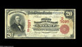 National Bank Notes:Kentucky, Greenup, KY - $20 1902 Red Seal Fr. 639 The First NB Ch. # (S)7037.Another of the Gale collection's great notes, with t...