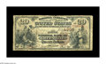 National Bank Notes:Kentucky, Greenville, KY - $20 1882 Brown Back Fr. 498 The First NB Ch. #4356. This is a deceptively scarce one bank community, w...