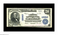National Bank Notes:Kentucky, Harlan, KY - $20 1902 Plain Back Fr. 635 The Citizens NB Ch. # 12243. As nice as most any large example from this bank, ...