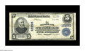National Bank Notes:Kentucky, Harlan, KY - $5 1902 Plain Back Fr. 609 The Harlan NB Ch. # 12295.While grading only Fine+, this example bears the ...