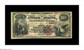 National Bank Notes:Kentucky, Harrodsburg, KY - $10 1882 Brown Back Fr. 484 The First NB Ch. #(S)1807. Large notes only from this Harrodsburg bank. D...
