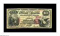 National Bank Notes:Kentucky, Harrodsburg, KY - $10 1875 Fr. 420 The Mercer NB Ch. # 2531. A verynice example of a just plain scarce Kentucky type an...