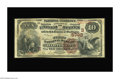 National Bank Notes:Kentucky, Hartford, KY - $10 1882 Brown Back Fr. 490 The First NB Ch. #(S)5792. An excessively rare note from the only bank to is...