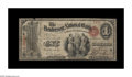 National Bank Notes:Kentucky, Henderson, KY - $1 Original Fr. 380 The Henderson NB Ch. # 1615. Anextremely scarce early note from here, with this one...