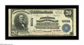 National Bank Notes:Kentucky, Lawrenceburg, KY - $20 1902 Plain Back Fr. 652 The Anderson NB Ch.# 8604. A second high grade example from this none to...
