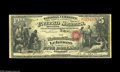 National Bank Notes:Kentucky, Lebanon, KY - $5 Original Fr. 399 The NB of Lebanon Ch. # 1694. Alovely example from by far the scarcest of Lebanon's f...