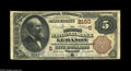 National Bank Notes:Kentucky, Lebanon, KY - $5 1882 Brown Back Fr. 474 The Marion NB Ch. #(S)2150. An attractive $5 Brown Back which is one of just t...