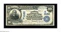 National Bank Notes:Kentucky, Lebanon, KY - $10 1902 Plain Back Fr. 631 The Marion NB Ch. #(S)2150. This Very Fine+ is only the fourth $10 Plain ...