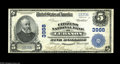 National Bank Notes:Kentucky, Lebanon, KY - $5 1902 Plain Back Fr. 600 The Citizens NB Ch. #3988. A bright Crisp Uncirculated example with crackl...