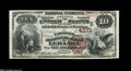 National Bank Notes:Kentucky, Lebanon, KY - $10 1882 Brown Back Fr. 484 The Farmers NB Ch. #(S)4271. A gorgeous Brown Back from this tougher Lebanon ...