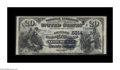 National Bank Notes:Kentucky, Leitchfield, KY - $20 1882 Date Back Fr. 555 The Grayson County NBCh. # (S)5314. This bank issued just 913 sheets of Da...