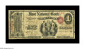 National Bank Notes:Kentucky, Lexington, KY - $1 Original Fr. 380 The First NB Ch. # 760. A veryrare type and denomination from this very scarce bank...