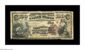 National Bank Notes:Kentucky, Lexington, KY - $100 1882 Brown Back Fr. 520 The Lexington City NBCh. # (S)906. This rare note traces its pedigree back...