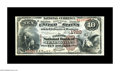 National Bank Notes:Kentucky, Lexington, KY - $10 1882 Brown Back Fr. 484 The Fayette NB Ch. #1720. A most attractive Brown Back, with great color, s...