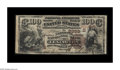 National Bank Notes:Kentucky, Lexington, KY - $100 1882 Brown Back Fr. 530 The National ExchangeBank Ch. # (S)2393. A wonderful note from Lexington's...