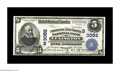 National Bank Notes:Kentucky, Lexington, KY - $5 1902 Plain Back Fr. 601 The Phoenix & Third NB Ch. # (S)3052. This Extremely Fine note bears the ...
