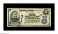 National Bank Notes:Kentucky, Louisa, KY - $5 1902 Date Back Fr. 590 The First NB Ch. # (S)7110.The Kelly census lists only three Date Backs of any d...