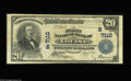 National Bank Notes:Kentucky, Louisa, KY - $20 1902 Plain Back Fr. 650 The First NB Ch. #(S)7110. A second example from this Lawrence County institut...