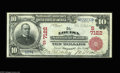 National Bank Notes:Kentucky, Louisa, KY - $10 1902 Red Seal Fr. 613 The Louisa NB Ch. # (S)7122.By far the scarcer of Louisa's two issuers, both of ...
