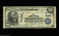 National Bank Notes:Kentucky, Louisa, KY - $20 1902 Plain Back Fr. 650 The Louisa NB Ch. #(S)7122. A second example from this Louisa bank as well, wi...