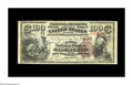 National Bank Notes:Kentucky, Louisville, KY - $100 1882 Brown Back Fr. 519 The First NB Ch. #109. This attractive piece is one of only 19 $100 Brown...
