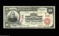 National Bank Notes:Kentucky, Louisville, KY - $10 1902 Red Seal Fr. 613 The First NB Ch. #(S)109. This Red Seal is the nicest of any listed in the K...