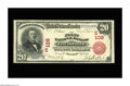 National Bank Notes:Kentucky, Louisville, KY - $20 1902 Plain Back Fr. 650 The First NB Ch. #(S)109. This $20 Red Seal is new to the census, which li...