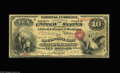 National Bank Notes:Kentucky, Louisville, KY - $10 Original Fr. 412 The Louisville City NB Ch. #788. Just four notes are listed in the census from he...