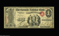 National Bank Notes:Kentucky, Louisville, KY - $1 Original Fr. 382 The German NB Ch. # 2062. Ajust plain rare Louisville bank which issued First Char...